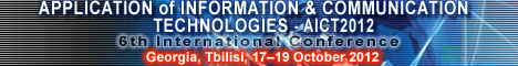 The 6th IEEE International Conference on Application of Information and Communication Technologies AICT2012