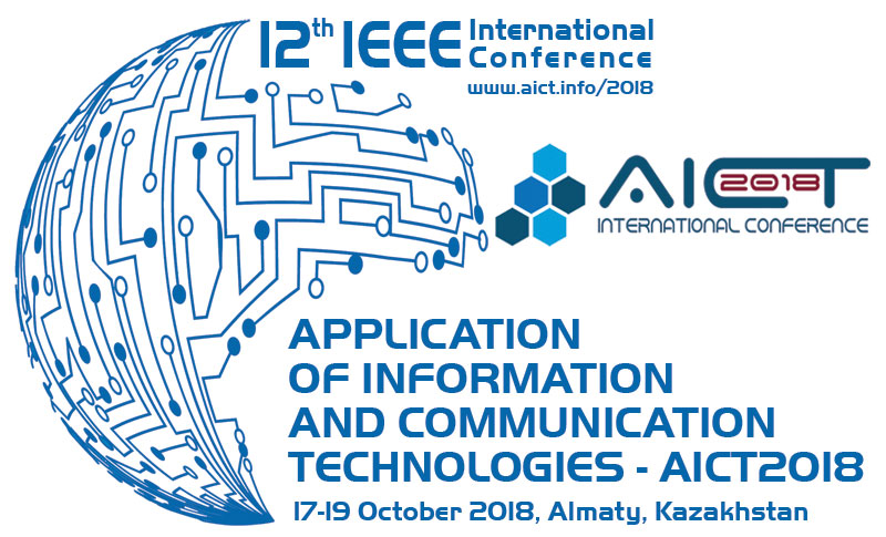 AICT2018 | 12th IEEE International Conference on Application of Information and Communication Technologies (AICT2018)